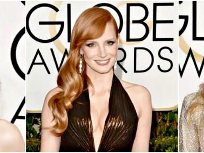 Golden Globes 2015: Τα Top χτενίσματα των star τη μεγάλη βραδιά